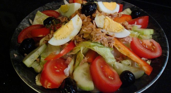 Салат «Ницца» классический рецепт